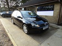 2012 VOLKSWAGEN GOLF 1.6 MATCH TDI BLUEMOTION TECHNOLOGY 5d 103 BHP