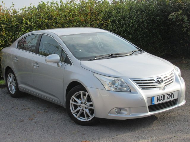 USED 2011 11 TOYOTA AVENSIS 2.0 TR D-4D 4d 125 BHP * 128 POINT AA INSPECTED * 12MONTHS FREE AA MEMBERSHIP *