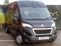USED 2018 18 PEUGEOT BOXER 2.0 BLUE HDI 335 L3H2 PROFESSIONAL P/V 130 BHP No Deposit Finance & Part Ex Available