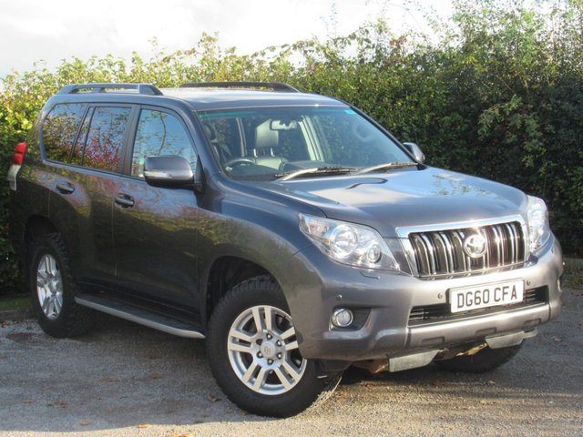 USED 2011 60 TOYOTA LAND CRUISER 3.0 D-4D LC4 5d AUTOMATIC * 4X4 * AUTOMATIC * 7 SEATS *