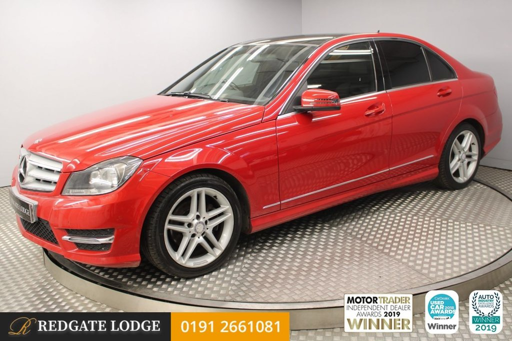 USED 2013 63 MERCEDES-BENZ C CLASS 2.1 C220 CDI BLUEEFFICIENCY AMG SPORT 4d AUTO 168 BHP