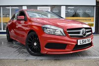 USED 2014 14 MERCEDES-BENZ A CLASS 1.5 A180 CDI BLUEEFFICIENCY AMG SPORT 5d 109 BHP COMES WITH 6 MONTHS WARRANTY