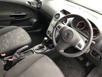 USED 2012 12 VAUXHALL CORSA 1.4 EXCLUSIV AC 3d AUTO 98 BHP