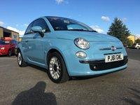 2011 FIAT 500 1.2 C LOUNGE 3d 69 BHP £3920.00