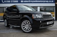 USED 2008 58 LAND ROVER RANGE ROVER SPORT 3.6 TDV8 SPORT HST 5d AUTO 269 BHP COMES WITH 6 MONTHS WARRANTY