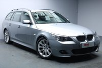 USED 2006 56 BMW 5 SERIES 3.0 535D M SPORT 5d 269 BHP FULL SERVICE HISTORY+NAV+LEATHER+BLUETOOTH+VISIBILITY PACK+HEATED FRONT SEATS
