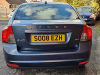 USED 2008 08 VOLVO S40 1.6 S D 4d