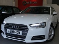 USED 2016 16 AUDI A4 AVANT 2.0 TDI ULTRA SPORT 5d AUTO 190 S/S 1 OWNER FROM NEW, FULL AUDI SERVICE HISTORY, £20 ROAD TAX (106 G/KM), SAT NAV, AUDI SMART PHONE WITH APPLE CAR PLAY & ANDROID AUTO, AUDI CONNECT, DAB RADIO, CRUISE CONTROL WITH SPEED LIMITER, LED DAYTIME RUNNING LIGHTS, BLUETOOTH PHONE & MUSIC STREAMING, FRONT & REAR PARKING SENSORS WITH DISPLAY, ELECTRIC TAILGATE, SPORT SEATS, LEATHER TIPTRONIC MULTIFUNCTION STEERING WHEEL (PADDLE SHIFT), LIGHT & RAIN SENSORS, AUDI DRIVE SELECT, KEYLESS START, WIFI, AUX INPUT, 2x USB PORTS, CD WITH 2x SD CARDS