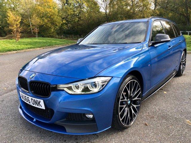 2016 66 BMW 3 SERIES 3.0 335D XDRIVE M SPORT TOURING 5d 308 BHP
