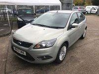 2010 FORD FOCUS 1.6 TITANIUM 5d AUTO 100 BHP £4799.00