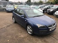USED 2007 07 FORD FOCUS 1.6 ZETEC CLIMATE 16V 5d AUTO 101 BHP