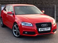 USED 2012 H AUDI A3 2.0 SPORTBACK TDI S LINE SPECIAL EDITION 5d 138 BHP