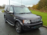 USED 2013 63 LAND ROVER DISCOVERY 3.0 SDV6 HSE LUXURY 5d AUTO 255 BHP 7 SEATER, REAR ENTERTAINMENT