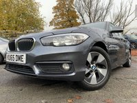 USED 2016 BMW 1 SERIES 1.5 116D ED PLUS 5d 114 BHP 2KEYS+ALLOYS+PARK+MEDIA+AUX+CLIMATE+NAV+HISTORY+0 ROAD TAX+USB+