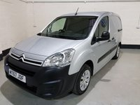 USED 2017 67 CITROEN BERLINGO 1.6 625 ENTERPRISE L1 BLUEHDI 74 BHP VAN 1 Previous Owner/Sat-Nav/Rear Park Sensors/Bluetooth