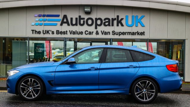 USED 2014 64 BMW 3 SERIES 2.0 320D M SPORT GRAN TURISMO 5d AUTO 181 BHP LOW DEPOSIT OR NO DEPOSIT FINANCE AVAILABLE