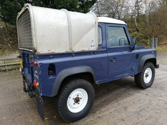 2014 LAND ROVER DEFENDER 90 2.2 TD PICK UP 122 BHP £15995.00