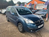 2015 PEUGEOT PARTNER 1.6 BLUE HDI TEPEE ACTIVE 5d AUTO 100 BHP £8490.00