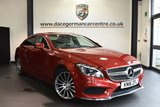 """USED 2016 16 MERCEDES-BENZ CLS CLASS 2.1 CLS220 D AMG LINE PREMIUM 4DR AUTO 174 BHP Finished in a stunning hyacinth metallic red styled with 19"""" alloys. Upon opening the drivers door you are presented with  full leather interior, comand satellite navigation, panoramic sunroof, reversing camera, bluetooth, heated seats with memory, active park assist, memory package, dab radio, dynamic LED headlights, AMG stying package, privacy glass, mirror package"""