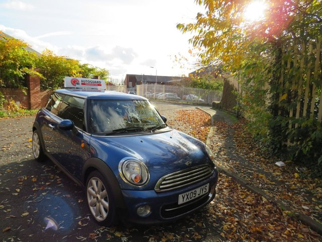 USED 2009 09 MINI HATCH COOPER 1.6 COOPER 3d 118 BHP A GREAT LITTLE MINI