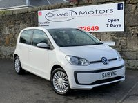 2018 VOLKSWAGEN UP 1.0 MOVE UP 5d 60 BHP £7650.00