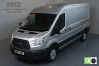 USED 2017 67 FORD TRANSIT 2.0 350 TREND RWD L3 H2 129 BHP EURO 6 ENGINE AIR CON, F-R PARKING SENSORS, ALLOY WHEEL