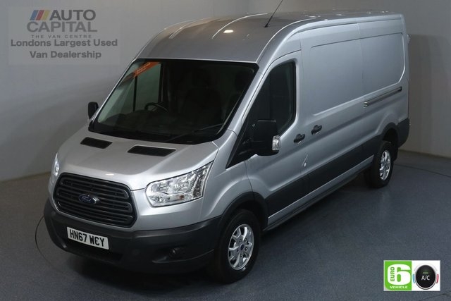 2017 67 FORD TRANSIT 2.0 350 TREND RWD L3 H2 129 BHP EURO 6 ENGINE AIR CON, F-R PARKING SENSORS, ALLOY WHEEL