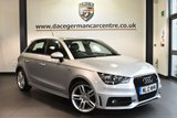 "USED 2012 12 AUDI A1 1.6 SPORTBACK TDI S LINE 5DR 105 BHP excellent service history Finished in a stunning floret metallic silver styled with 17"" alloys. Upon opening the drivers door you are presented with half black leather interior, excellent service history, bluetooth, sport seats, free road tax, multi-functonal steering wheel, heated mirrors, auxiliary port, air conditioning"