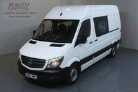 USED 2015 65 MERCEDES-BENZ SPRINTER 2.1 313 CDI MWB 129 BHP 7 SEATS COMBI VAN FITTED TABLE, MICROWAVE, WASH BASIN, WATER BOILER