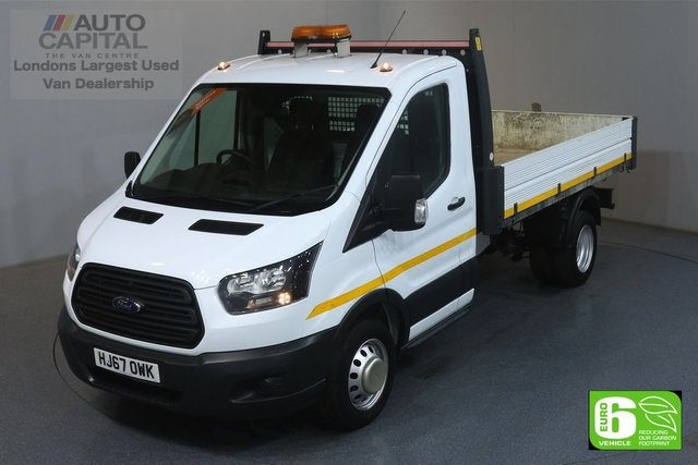 2017 67 FORD TRANSIT 2.0 350 RWD TWIN WHEEL L3 129 BHP EURO 6 ENGINE TIPPER ONE OWNER, SERVICE HISTORY
