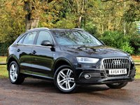 USED 2014 64 AUDI Q3 1.4 TFSI S LINE 5d 150 BHP £245 PCM With £1499 Deposit