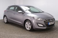 USED 2012 12 HYUNDAI I30 1.6 STYLE NAV BLUE DRIVE CRDI 5DR SAT NAV 126 BHP SERVICE HISTORY + SATELLITE NAVIGATION + PARK ASSIST + REVERSE CAMERA + PARKING SENSOR + BLUETOOTH + CRUISE CONTROL + CLIMATE CONTROL + MULTI FUNCTION WHEEL + XENON HEADLIGHTS + RADIO/CD/AUX/USB + ELECTRIC WINDOWS + ELECTRIC MIRRORS + 16 INCH ALLOY WHEELS