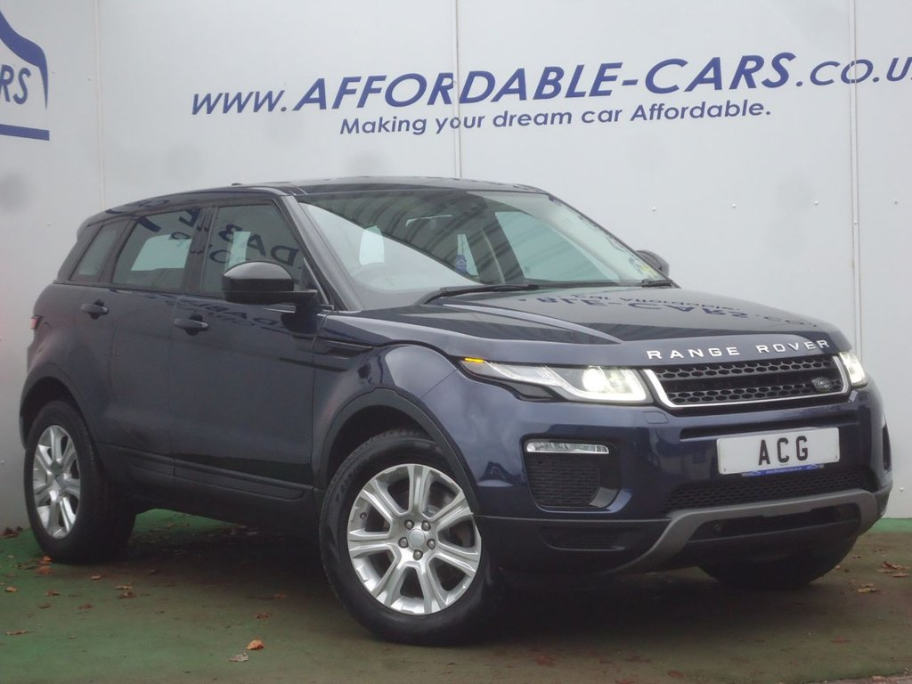 USED 2016 66 LAND ROVER RANGE ROVER EVOQUE 2.0 TD4 SE TECH 5d 177 BHP