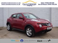 USED 2013 13 NISSAN JUKE 1.6 VISIA 5d 93 BHP Service History Air Con 2 Keys Buy Now, Pay Later Finance!