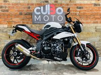 USED 2011 11 TRIUMPH SPEED TRIPLE 1050 Fully Loaded With Extras