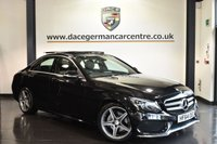 "USED 2015 64 MERCEDES-BENZ C CLASS 2.1 C220 BLUETEC AMG LINE PREMIUM PLUS 4DR AUTO 170 BHP full service history Finished in a stunning obsidian black styled with 18"" alloys. Upon opening the drivers door you are presented with  full black leather interior, full service history, satellite navigation, bluetooth, full panoramic roof, reversing camera, heated seats with memory , cruise control, active park assist, rain sensors, electric folding mirrors, dab radio, AMG styling package, ambient lighting"