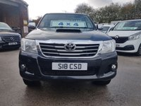 USED 2014 64 TOYOTA HI-LUX 3.0 INVINCIBLE 4X4 D-4D DCB 169 BHP LOTS OF EXTRAS  ((( NICE MODEL BIG SPEC TOYOTA INVINCIBLE 4X4 ))))