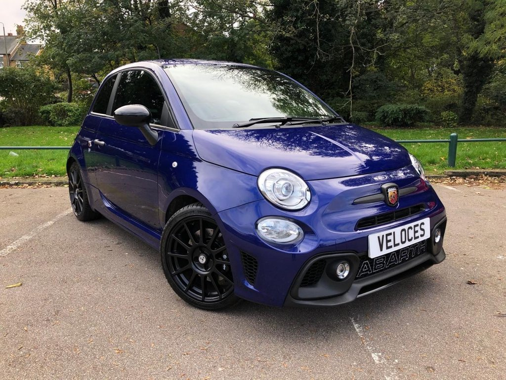 USED 2017 67 ABARTH 595 1.4 595 COMPETIZIONE 3d 177 BHP £2500 OF FACTORY EXTRAS