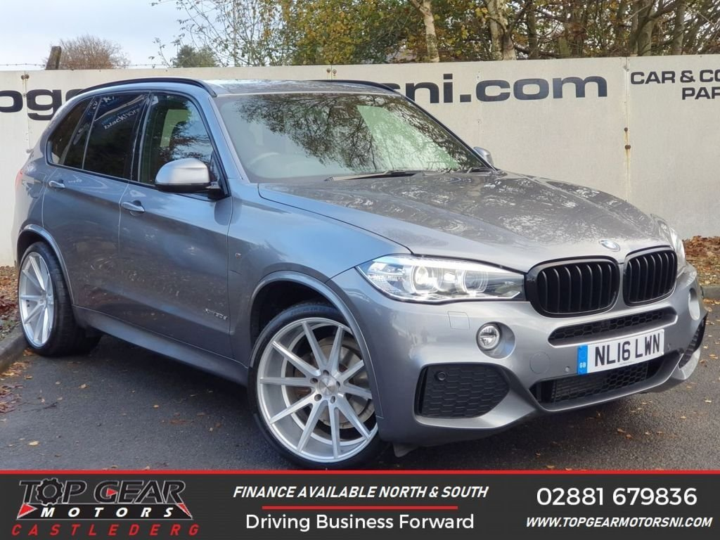 USED 2016 16 BMW X5 XDRIVE 30D M SPORT AUTO 3.0 **CAN BE M-PERFORMANCE KITTED** **CHOICE OF OVER 90 VEHICLES ** FINANCE AVAILABLE**