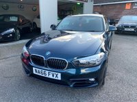 USED 2016 66 BMW 1 SERIES 2.0 118d Sport (s/s) 3dr FULL BMW SERVICE HISTORY
