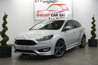 USED 2016 66 FORD FOCUS 1.5 ST-LINE 5d 148 BHP ONLY 22K, GOOD SPEC, GREAT EXAMPLE
