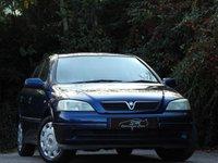 USED 2003 03 VAUXHALL ASTRA 1.6 CLUB 8V 5d 85 BHP P/X TO CLEAR LONG MOT