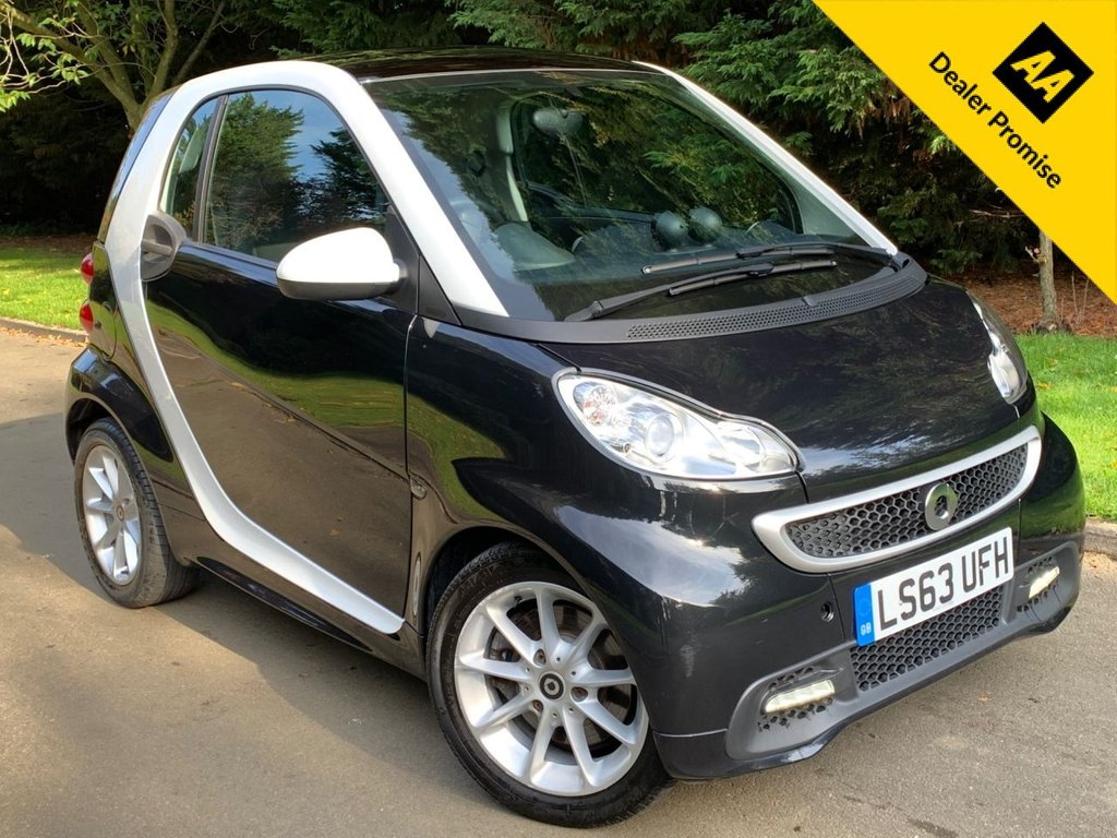 USED 2013 63 SMART FORTWO COUPE 1.0 PASSION MHD 2d 71 BHP VERY LOW MILEAGE, AUTOMATIC