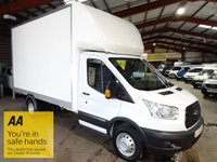 USED 2016 16 FORD TRANSIT 2.2 350 C/C DRW 125 BHP EF LWB LUTON VAN WITH TAIL LIFT - AA DEALER PROMISE - TRADING STANDARDS APPROVED -