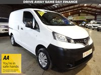 USED 2015 15 NISSAN NV200 1.5 DCI ACENTA 90 BHP SWB VAN - AA DEALER PROMISE - TRADING STANDARDS APPROVED -