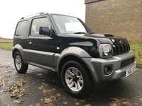 USED 2013 63 SUZUKI JIMNY 1.3 SZ4 BLACK/BLACK LEATHER FSH 49000 MILES