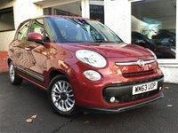 2014 FIAT 500L 1.6 MULTIJET LOUNGE 5d 105 BHP £4950.00