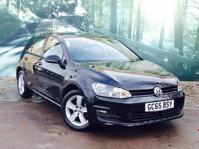 2016 65 VOLKSWAGEN GOLF 2.0 MATCH TDI BLUEMOTION TECHNOLOGY DSG 5d AUTO 148 BHP
