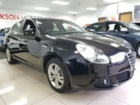 USED 2013 62 ALFA ROMEO GIULIETTA 2.0 JTDM-2 LUSSO S/S 5d+LOW MILES+SERVICE HISTORY+CAMBELT CHANGED+