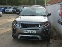 USED 2016 66 LAND ROVER RANGE ROVER EVOQUE 2.0 TD4 HSE DYNAMIC 5d AUTO 177 BHP FULL LAND ROVER SERVICE HISTORY ONE OWNER